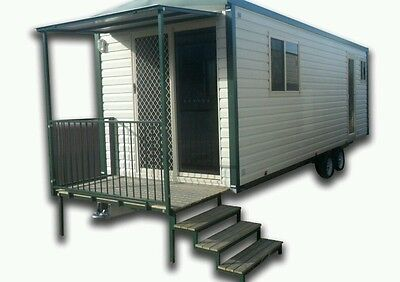 Weekly Hire for a Studio CabinVAN caravan, Granny Flat, relocatable mobile home
