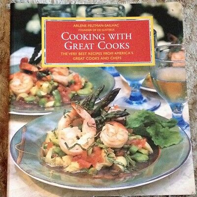 Cooking with Great Cooks, Feltman, Sailhac Paperback Book The Cheap Fast Free