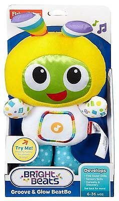 Fisher-Price Bright Beats Groove & Glow BeatBo, New & Free Delivery