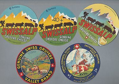 Selection of all different cheese labels Fromage formaggio #413