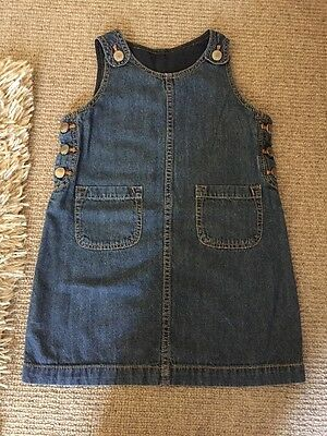 Gap Denim Dress Age 4 Excellent Condition