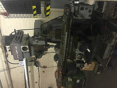 Gate/Elga Turret Mill Vertical Milling Machine with tooling
