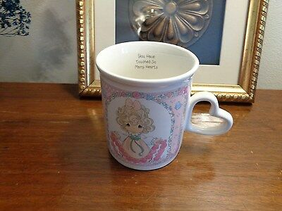 "Precious Moments Enesco 1996 Cup ""You Have Touched So Many Hearts"""
