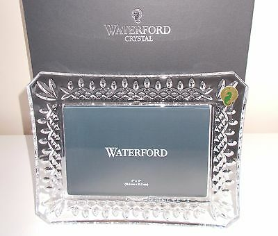 Waterford Crystal Lismore Photo Frame New Boxed 4x6 Photo Size