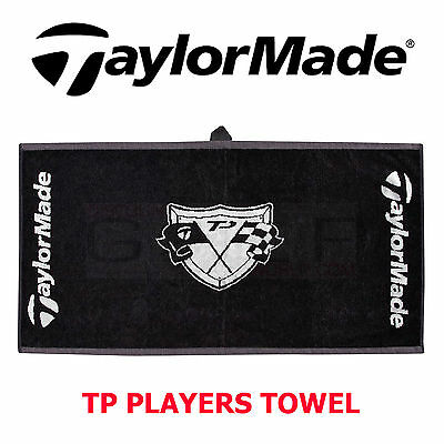 Taylormade Golf Tp Players Towel Very Rare