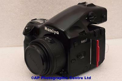 Mamiya 645 AF Film Camera c/w 80mm f2.8 Lens GREAT CAMERA