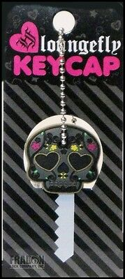 Loungefly Key Cap Skull Heart Eyes 0208 House Office Home Quality Unique