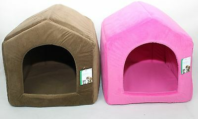 Luxury Portable Pet Bed House Dog Cat Home Warm Mat Snug Puppy Soft Bedding