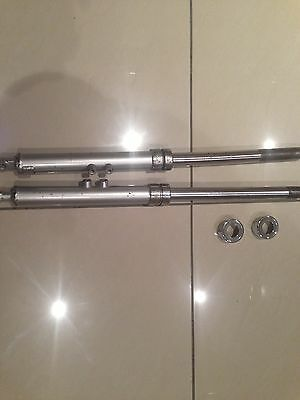 Yamaha Fs1-E Genuine Pair Of Front Forks