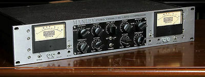 "Manley Stereo "" variable MU "" Limiter Compressor Mid 2000's Black/Grey"