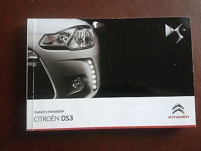 Citroen DS3  Handbook  Owners Manual  2010 2015   319 Pages.