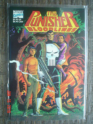 The Punisher: Bloodlines - Marvel Comics - 1991 - Near Mint - 68 Pgs