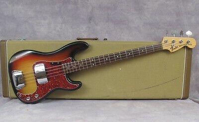 1975 Fender Precision - Sunburst - Andy Baxter Bass & Guitars Ltd