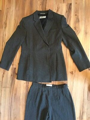 Ladies Max Mara Suit Jacket And Trousers 12 / 14