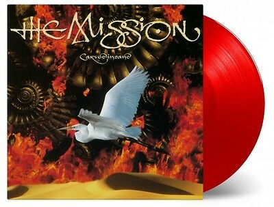 THE MISSION Carved In Sand Numbered RED Vinyl 180gm Vinyl LP NEW SEALED MoV