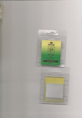 PRINZ STAMP MOUNTS CLEAR 36x29 STRIPS x25 IN PACK