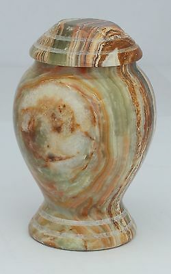 Mini Cremation Urn for ashes Funeral Memorial small keepsake Marble Outdoor urn