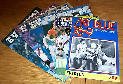 Everton - 4  Home Programmes - 2 Away