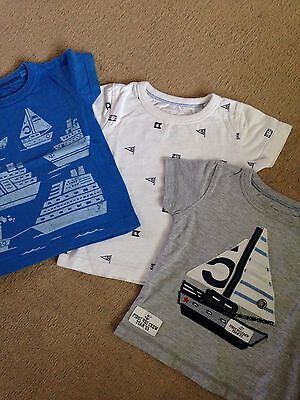 Boys T Shirts And Shorts 3-6 Months