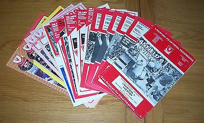 Liverpool - Mixed Seasons Home Programmes - 16