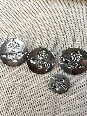 Vintage RAF Buttons By Firmin Of London