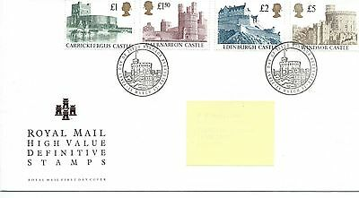 wbc. - GB - ROYAL MAIL FIRST DAY COVER - FDC - DEFINITIVES -1992- 4 vals to £5