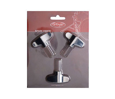 STAGG DPR500-CYWN8 Cymbal wing nut- Ecrou papillon (3pcs)- NEW