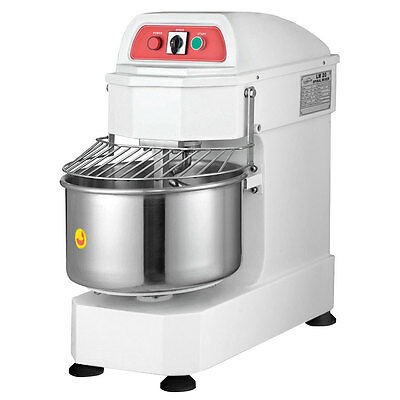 Eurodib 40qt Gear Driven Spiral Mixer with Timer - LM40T