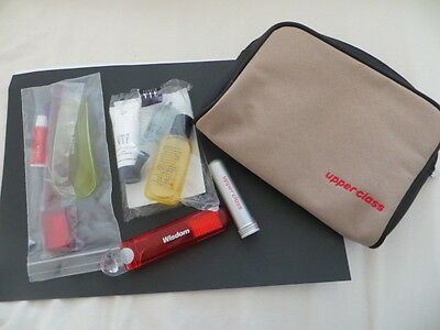 Virgin Atlantic Upper Class Amenity Bag With Contents