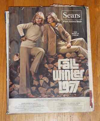 Vintage Fall And Winter 1977 Catalog Sears Roebuck And Co.