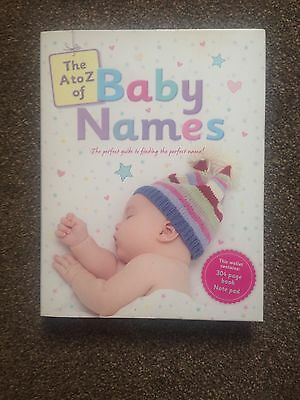 The A to Z of Baby Names Book With Notepad