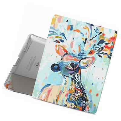 iPad 2 / 3 / 4 Case - MoKo Ultra Slim Lightweight Smart-shell Stand Cover with T