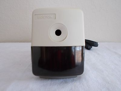 Vintage BOSTON Electric Pencil SHARPENER Model 19 Made by Hunt Corp USA