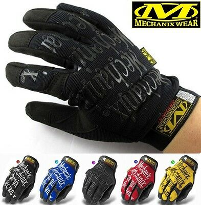 Full Finger Work Mechanix Wear Gloves Motor Sports Racing Game Paintball guantes