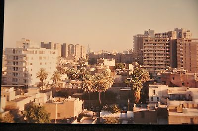 Early Iraq War Photograph 3.5 X 5 Original 'mansour District Baghdad From Roof'