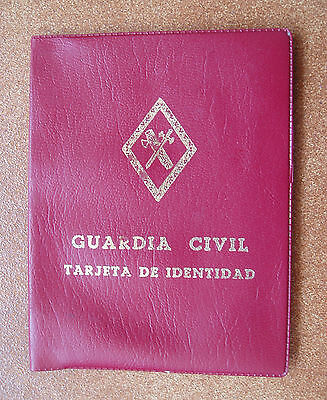 Antigua Cartera De Bolsillo Reglamentaria En Guardia Civil
