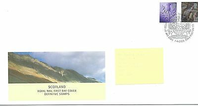 wbc. - GB - ROYAL MAIL FIRST DAY COVER - FDC - SCOTLAND -2008 - 2 vals to 81p