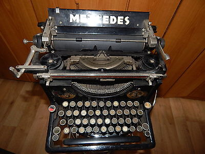 Collectible German Mercedes Typewriter Modell 3 Pre WW2
