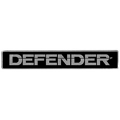 Land Rover Defender 90  Grill Decal Badge Genuine Part # BTR1045