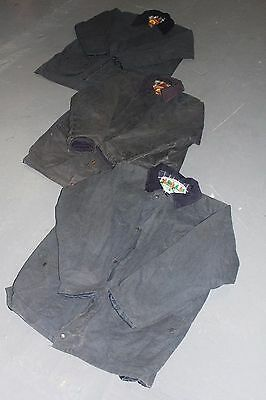 VINTAGE WHOLESALE JOBLOT Unbranded Farmer Hunting Plain Wax Jackets x 10