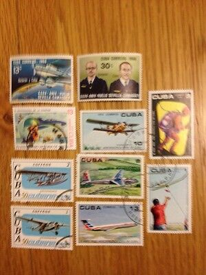 Aviation Stamps - Havana Selection