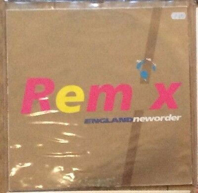 """1990 World Cup England & New Order World In Motion Remix 12"""" Vinyl Factory EX/F"""