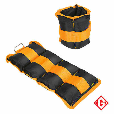 5kg Wrist Ankle Weights Resistance Strength Training Exercise Bracelets Straps