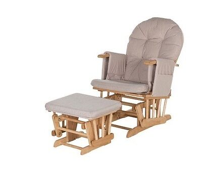 Kiddicare Recline Glider Chair And Stool