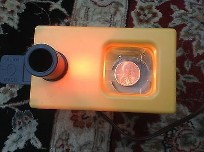 SCAN-O-MATIC Vintage Coin Viewer