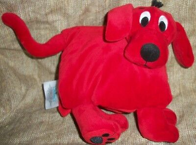 Clifford the Big Red Dog ZOOBIES Plush Soft Book
