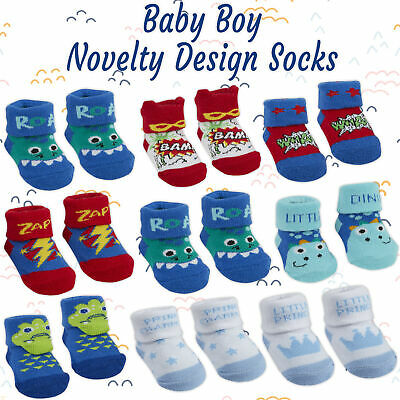 BABYTOWN Baby Boy New Car Design Socks Boots Booties Newborn Toddler 6 12 Months