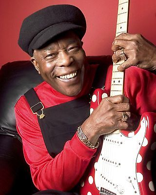 Buddy Guy Glossy 8x10 Photo 3