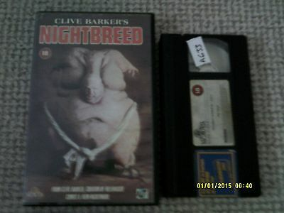 Clive Barkers Nightbreed Vhs