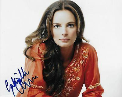 Burn Notice Gabrielle Anwar Autographed 8x10 Photo (Reproduction)  1